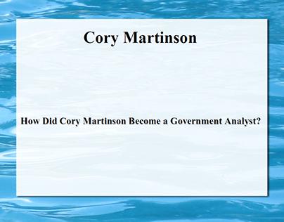 Cory Martinson's Childhood Love of Nature