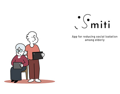 Smiti- App for addressing Elderly Isolation