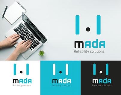 Mada ( Reliability solution ) branding and logo design