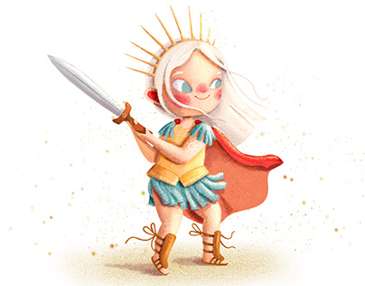 Desert warrior princess