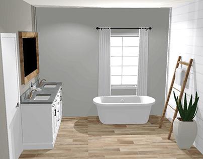 Barnaby Master Bath Remodel