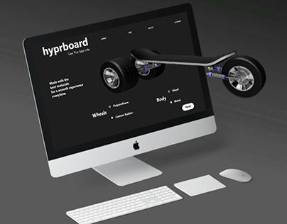 hyprboard : A 3D UI Design