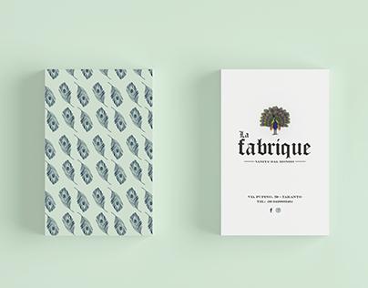 Le Fabrique | Concept store identity