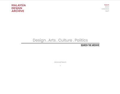 Search Malaysia Design Archive