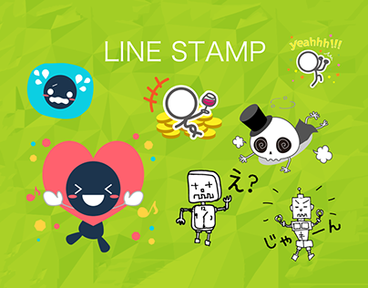 LINE stickers collection by doubleM