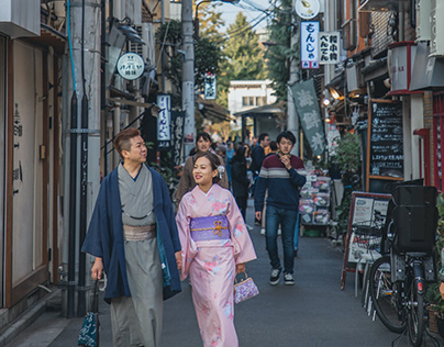 Engagement Photography - Tokyo