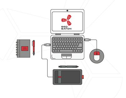 Redbaton | Web UI / UX