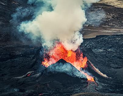 Volcanic Eruptions - Draft, Iceland 2021
