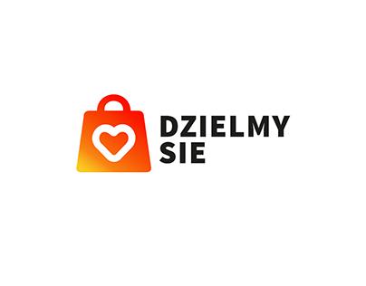 """Graphic Identification & Webiste - """"Dzielmy Sie"""""""