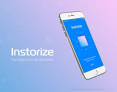 Instorize - Mobile App (UI/UX)
