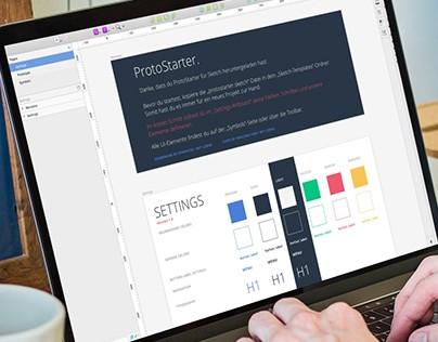 ProtoStarter - Simple Design Framework for Sketch