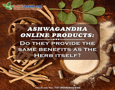 Ashwagandha Online Products | TabletShablet