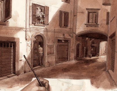 Drawing from the Road to Rome II
