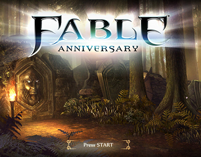 Fable Anniversary Frontend Menu