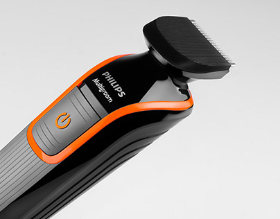 Studio photography of electric shaver.