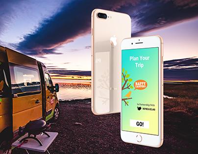 Happy Campers Travel App