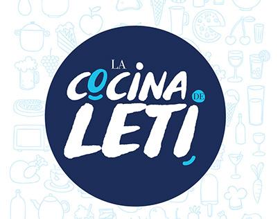 Diseño de logo para La cocina de Leti