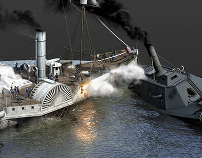 The Battle of Albemarle Sound (1864)