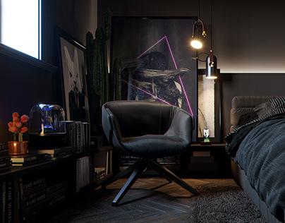 apartment-黑