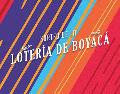 Sorteo Ordinario · Lotería de Boyacá