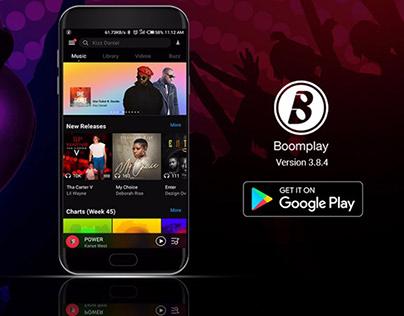 boomplay music app intro video