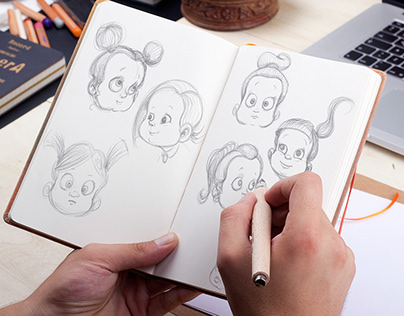 Baby Hero Illustrations
