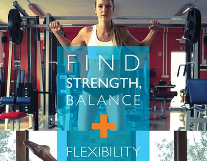 Flyer Design - Fitness + Yoga + Strength