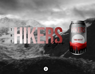 The Hikers Lager | Beer Concept Design