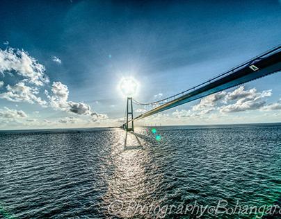Öresund Bridge also known as The Bridge