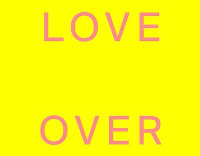 Ayudante de arte - LOVE OVER
