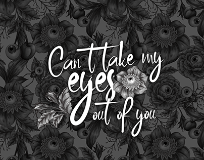 Can't take my eyes out of you