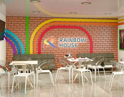 "Дизайн холла ""RAINBOW HOUSE"""