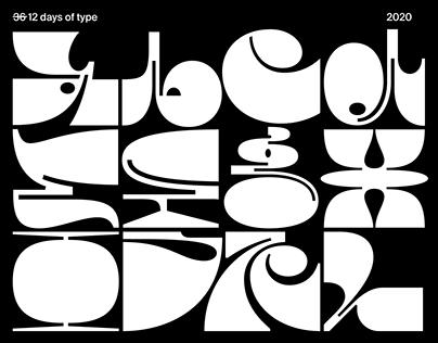 3̶6̶ 12days of type