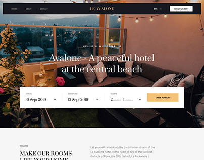 Le Avalone - hotel booking