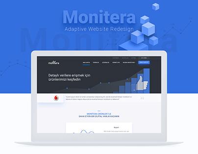 Monitera Adaptive Website by SHERPA