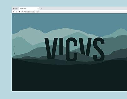 Vicvs - Parallax website