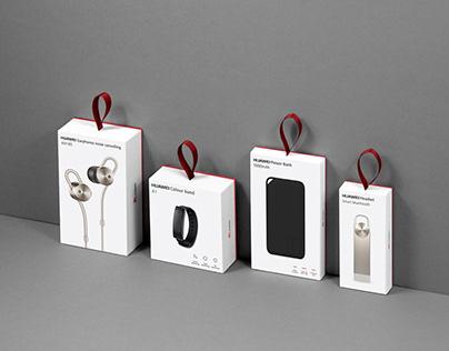 Huawei accessories packaging