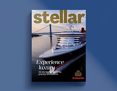 Stellar - Cunard Cruising Flip Cover