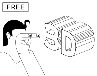 Free business card animation mockup