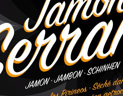 Jamón Serrano Labels