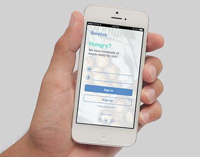 Surplus - Food Sharing App (Honours Project)