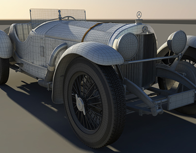 Mercedes Benz 1928 ssk