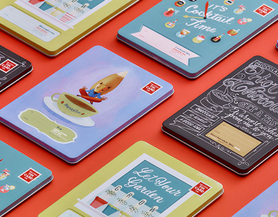 The Little Tin Card Co. – Brand Identity & Packaging