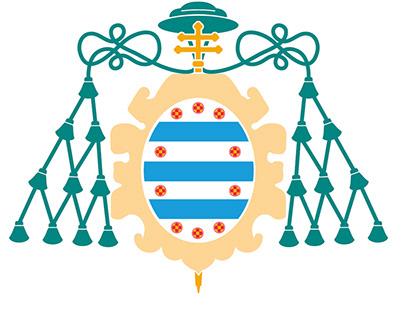 Identidad corporativa y escudo, Universidad de Oviedo