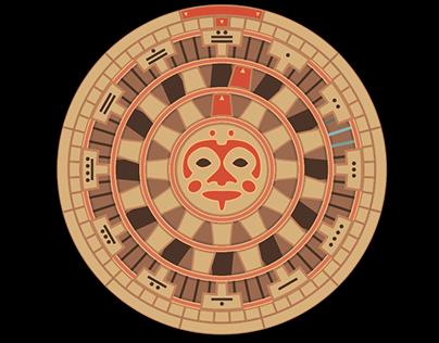 Mayan Analog Clock