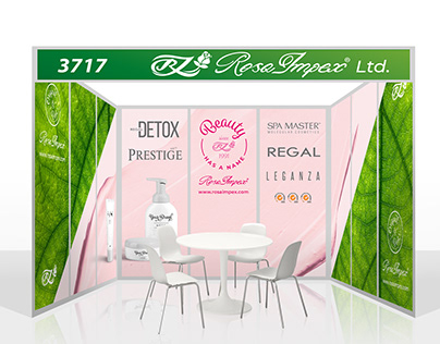 Rosa Impex Fair Stand