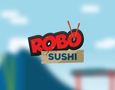 Robo Sushi mobile game uı and concept design