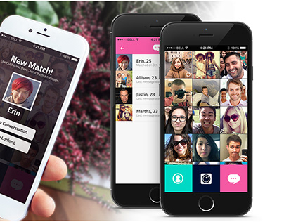 Dating iOS app concept