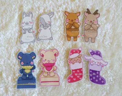 Stickers - Festive Animals (2020)