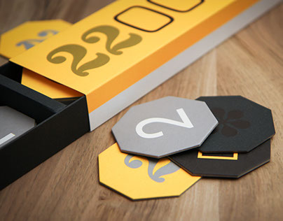 Memory 2015, Typographic Memory Game